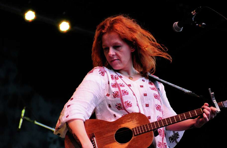 Neko Case performs on the Main Stage.