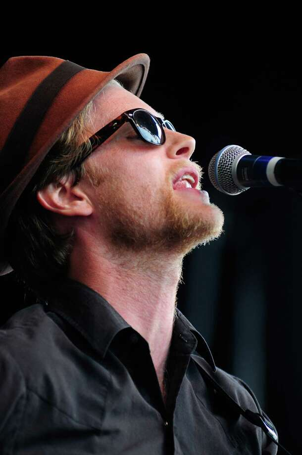 Wesley Schultz of The Lumineers performs. Photo: LINDSEY WASSON / SEATTLEPI.COM