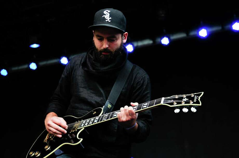 Josh Carter of Phantogram plays the bass as they perform. Photo: LINDSEY WASSON / SEATTLEPI.COM