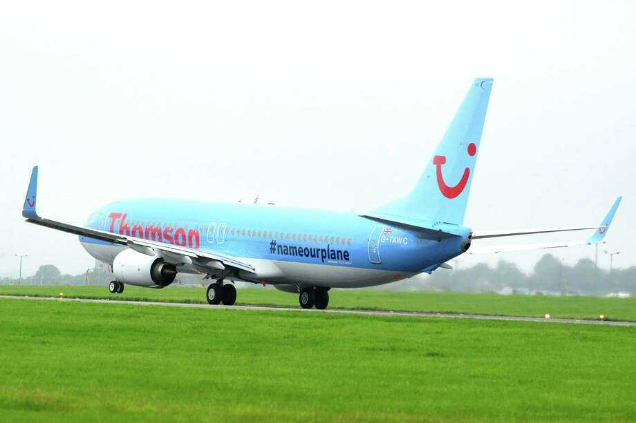 A Thomson Airways Boeing 737-800 is shown with the #nameourplane livery. Photo: Steve Dunlop, Thomson Airways