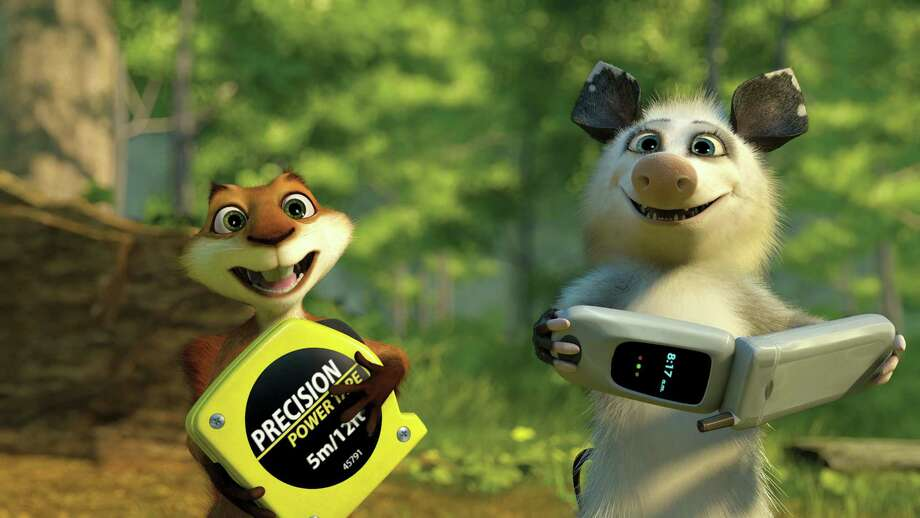 """Over the Hedge"" will be featured tonight at HemisFair Park. Photo: DreamWorks / handout CD"