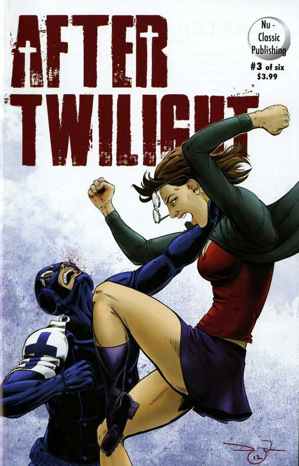 "The ""After Twilight"" graphic novel series is published by Nu-Classic Publishing in Houston. Photo: Courtesy"