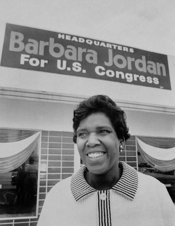 Barbara Jordan The first African-American to serve in the U.S. Congress from the south since Reconstruction Photo: Tom Colburn / Houston Chronicle