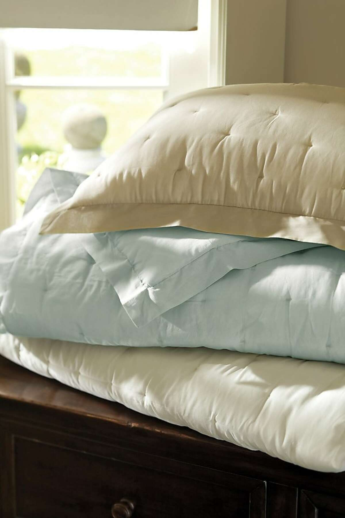 Less: $79-$129 PB Essential Quilt and Sham from Pottery Barn (potterybarn.com)