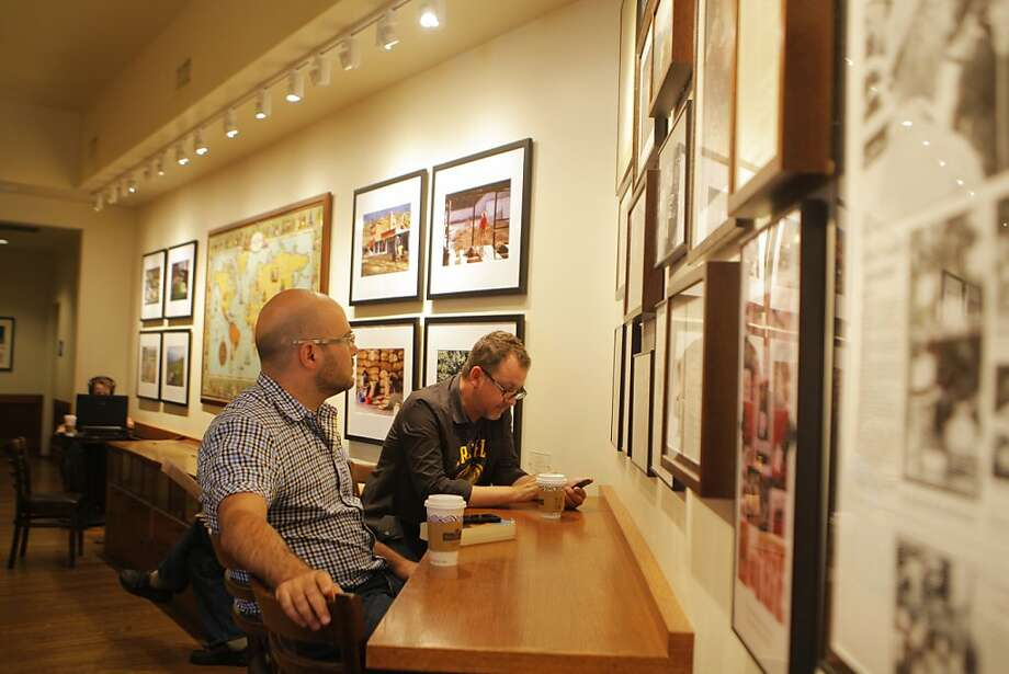 Pablo Monzon and Michael Rex have been coming to Peets Coffee twice a week for years on July 23, 2012 in Berkeley, Calif. Photo: Megan Farmer, The Chronicle