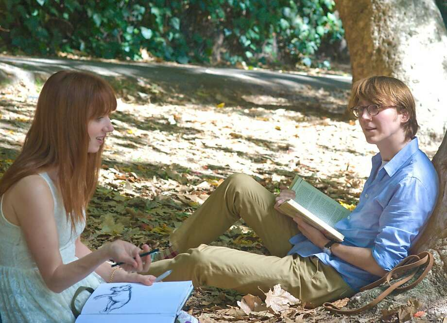 Actress/writer Zoe Kazan as Ruby and actor Paul Dano as Calvin star in the film. Photo: Merrick Morton, Fox Searchlight