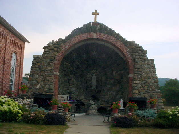 The Shrine at the Catholic Church of the Immaculate Conception in New Lebanon. (State Police photo) Photo: Picasa