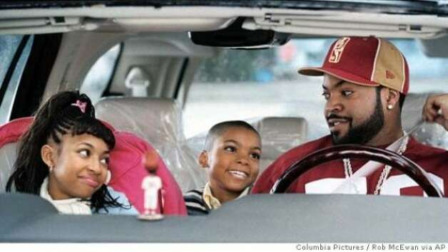 """Are We There Yet?"" (2005):  Ice Cube getting abused by bratty kids -- the whole movie."