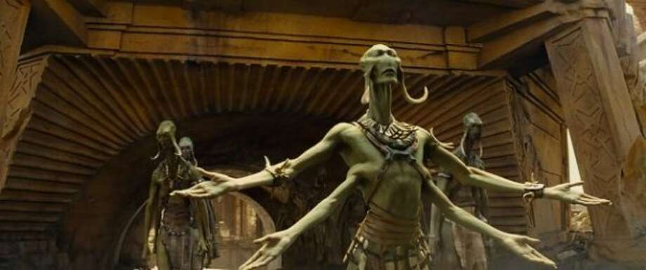 """John Carter"" (2012):  Bad warmed over ""Avatar."""