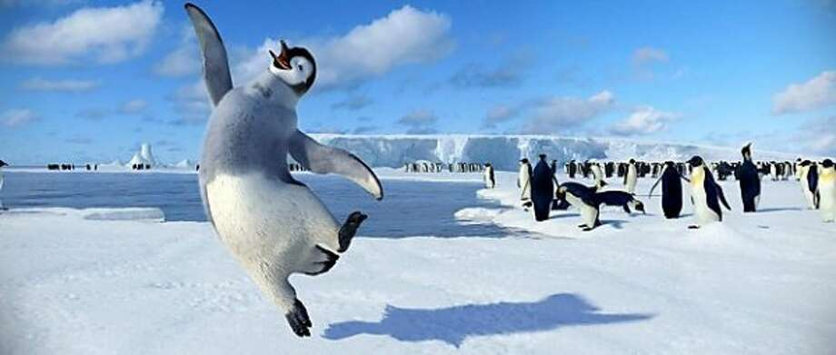 """Happy Feet 2"" (2010): The worst consequence of global warming on record was this bad sequel, in which changing weather patterns cause thousands of penguins to be stuck in a ditch - for about an hour and a half of screen time. While other penguins try to rescue them, they sing and dance poorly and are entertained by the antics of a Spanish-speaking penguin named Ramon - and, of course, he's played by Robin Williams. This movie was awful from its first minute."
