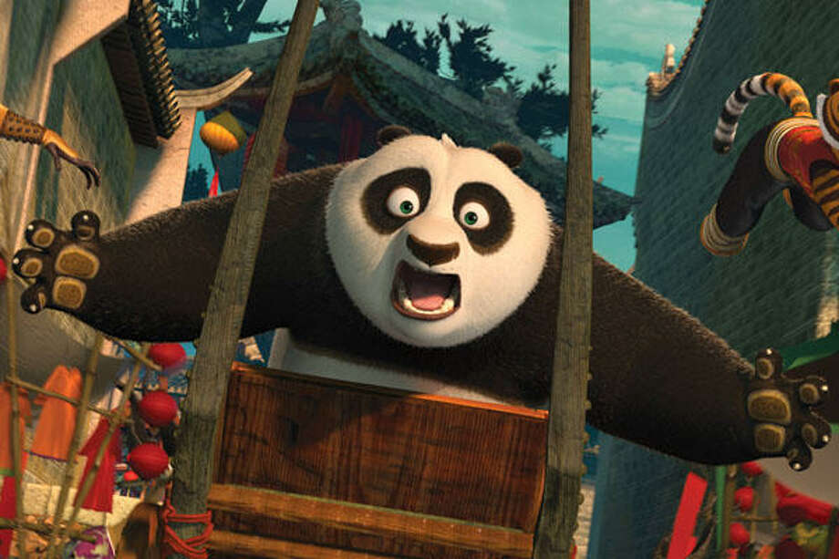 """Kung Fu Panda 2"": Badly choreographed battle scenes filmed in 3-D, with all the usual quick cuts and with no sense of the demands of three dimensions. Three-quarters of the movie consists of cartoon characters trying to kill other cartoon characters. How lovely for the kids."