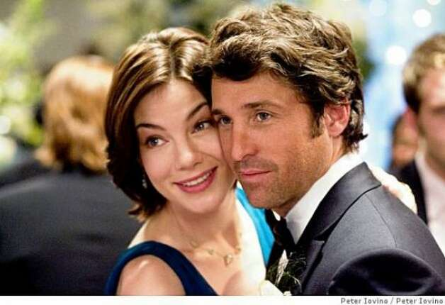"""Made of Honor"" (2008):  A shallow narcissist (Patrick Dempsey) realizes he's in love with his best friend (Michelle Monaghan) just as she announces her engagement. So what's left to happen? He tells her his feelings, and she decides what to do? But no. The filmmakers stretched things to excruciating length, by having no one speak honestly to anyone until the last five minutes of the movie."