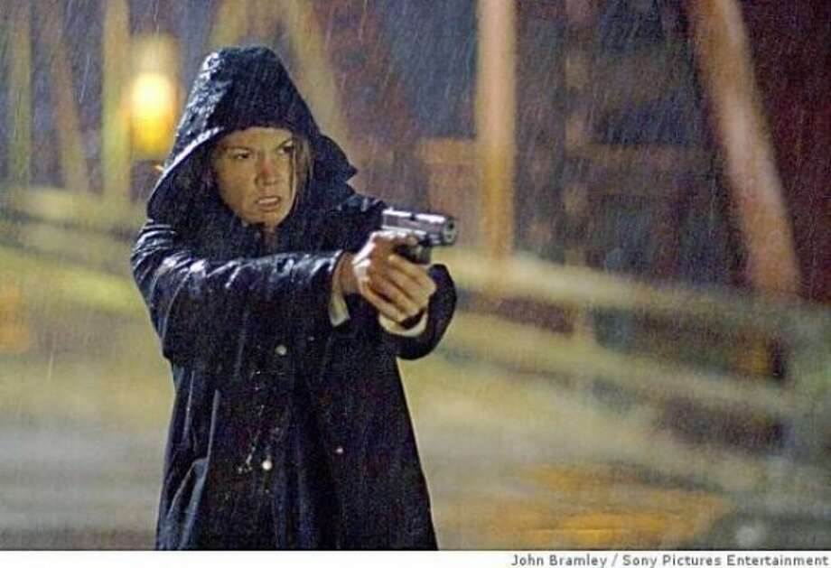 """Untraceable"":  Diane Lane as a cop who spends most of her time helplessly watching people getting murdered online."