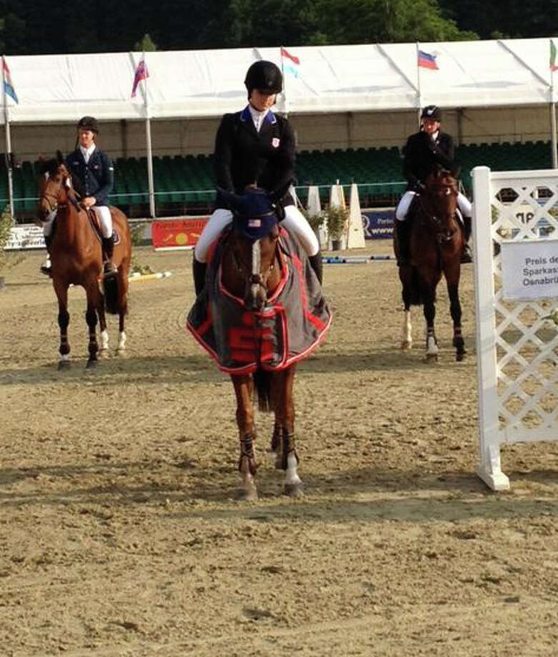 Greenwich equestrian rider Sydney Shulman. Photo: Contributed Photo