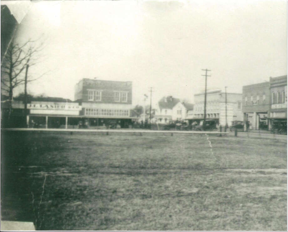 A picture of JL Lanier and Co, the photo is taken from approximately the location of the Belle-Jim Hotel Photo: Courtesy Photo