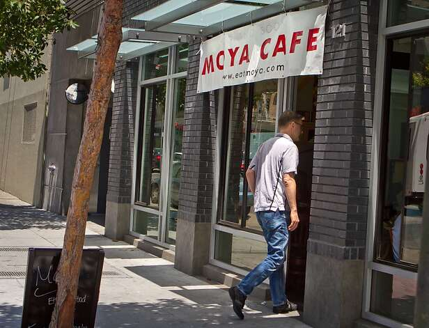 The exterior of Moya Ethiopian Eatery & Cafe in San Francisco, Calif., is seen Thursday, July 18th, 2012. Photo: John Storey, Special To The Chronicle