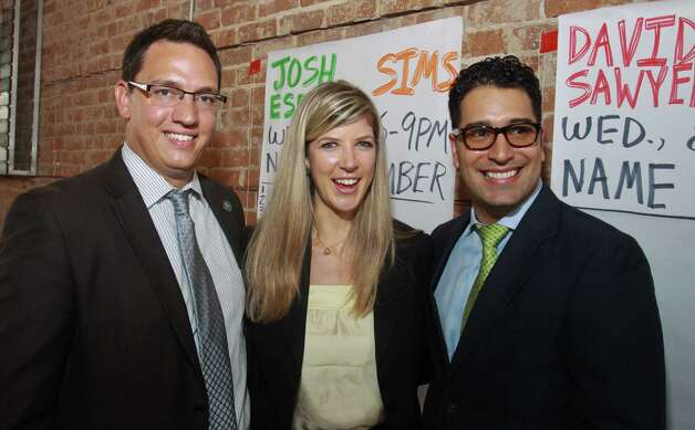 Alex Obregon, from left, Jennifer Russell and Joshua Espinedo Photo: Gary Fountain / Copyright 2012 Gary Fountain. 713-231-6178.