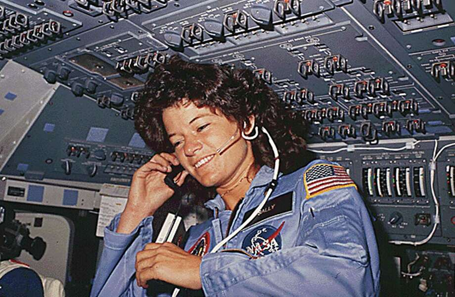 (FILES) This NASA file photo dated June 1983  shows America's first woman astronaut Sally Ride, as she communicates with ground controllers from the flight deck during the six-day space mission of the Challenger. Ride, the first US woman to fly in space, died on July 23, 2012 after a 17-month battle with pancreatic cancer, her foundation announced. She was 61. Ride first launched into space in 1983, on the seventh US space shuttle mission.       AFP PHOTO/NASA/HO     ++RESTRICTED TO EDITORIAL USE- NOT FOR ADVERSTISING OR MARKETING CAMPAIGNS - MANDATORY CREDIT: AFP PHOTO/NASA - DISTRIBUTED AS A SERVICE TO CLIENTS++-/AFP/GettyImages Photo: - / AFP/Getty Images / AFP ImageForum