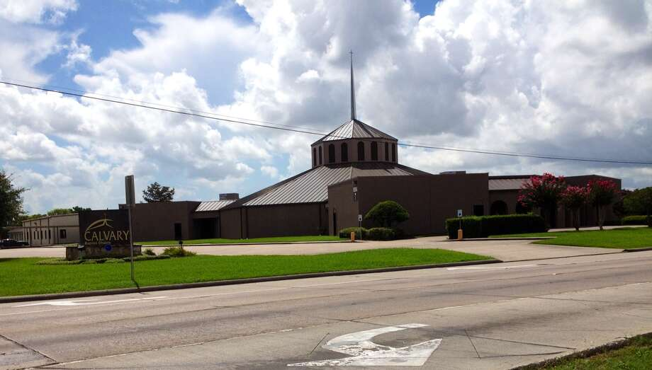 Calvary Baptist Church in Beaumont. Photo by Amy Moore. Photo: Amy Moore