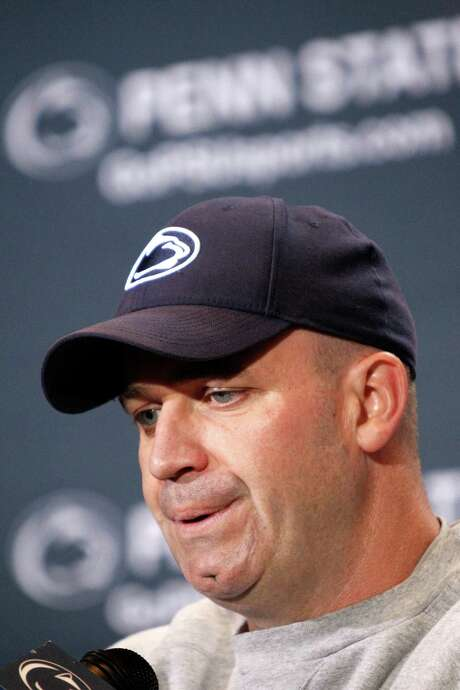 Penn State coach Bill O'Brien feels his time with the New England Patriots will come in handy as the Nittany Lions face the many challenges ahead. Photo: AP