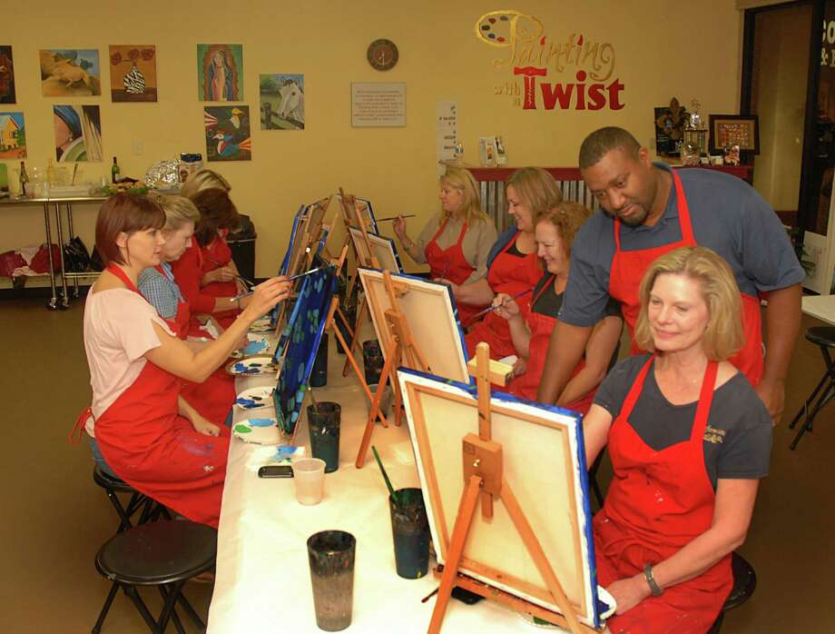 Painting with a Twisthas discounts for its painting classes at all three locations. Photo: David Hopper / freelance