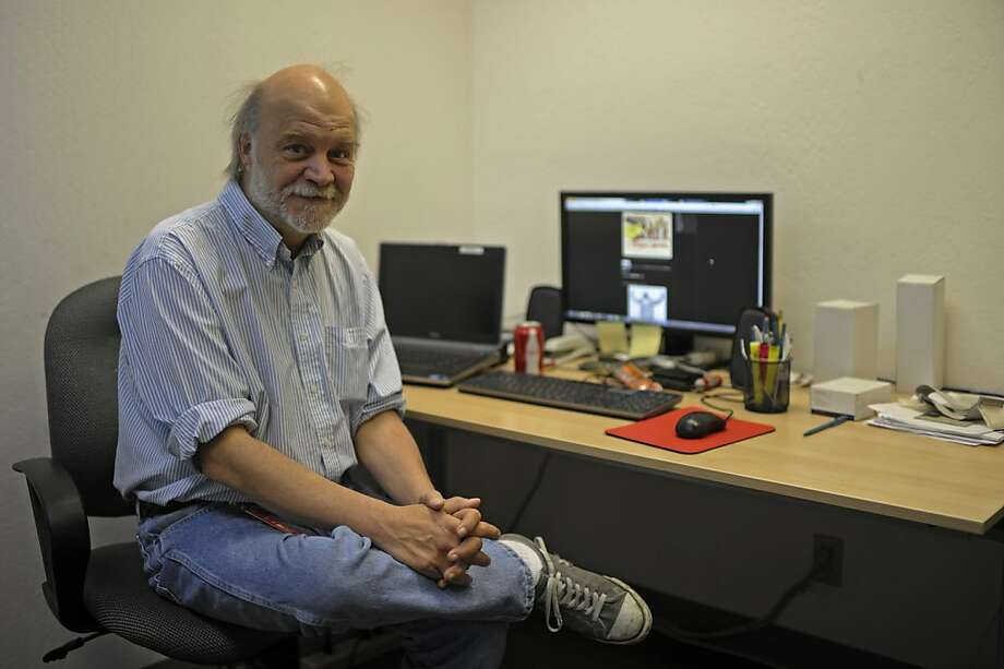 Mike Slavko is a lab technician at Santa Clara more commonly known as M.Dung the KFOG morning man in the 1980's and 90's Photo: Yue Wu, The Chronicle