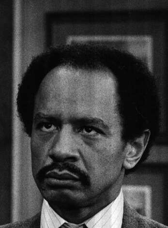 Sherman Hemsley; Mr. Jefferson of the Jeffersons.
