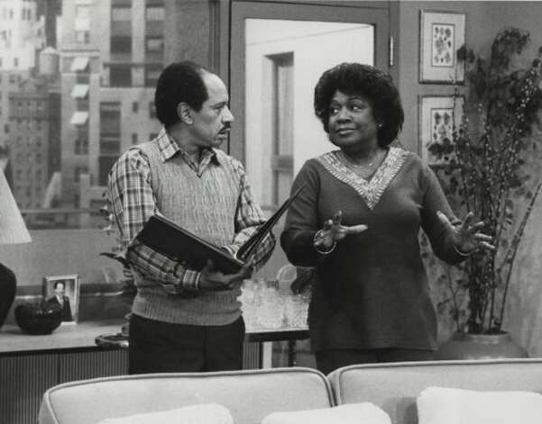 "Sherman Hemsley and Isabel Sanford star in an episode of ""The Jeffersons""  on CBS Television Network, file photo, 9/25/81. (CBS)"