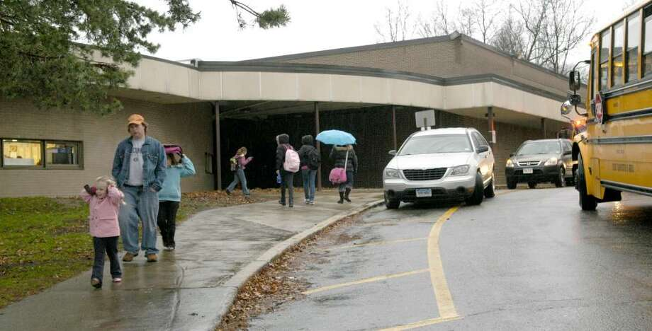 Mill Ridge Primary School in Danbury has been given a $10,000 anonymous donation. Photo: Carol Kaliff / The News-Times