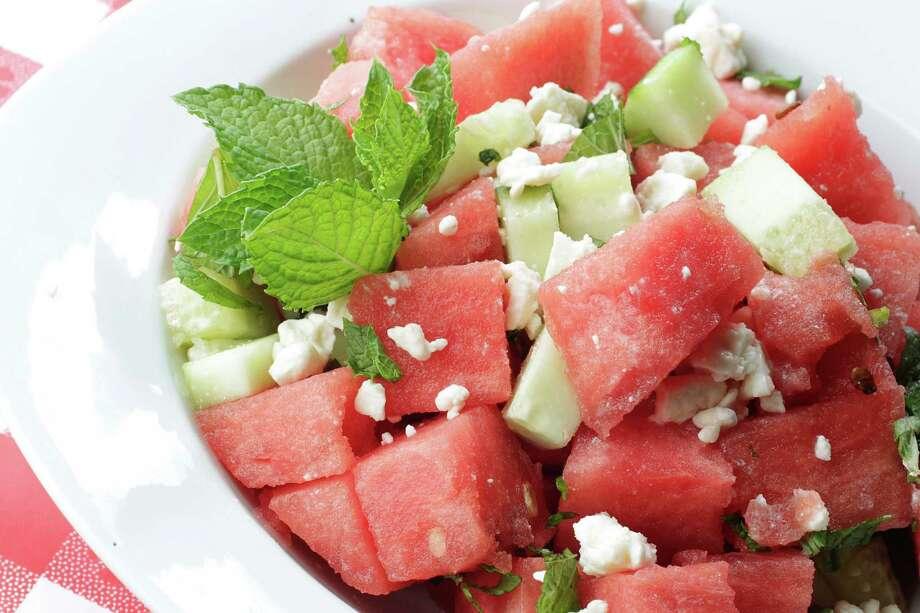 13) Watermelon as a salad Photo: Mayra Beltran / © 2012 Houston Chronicle