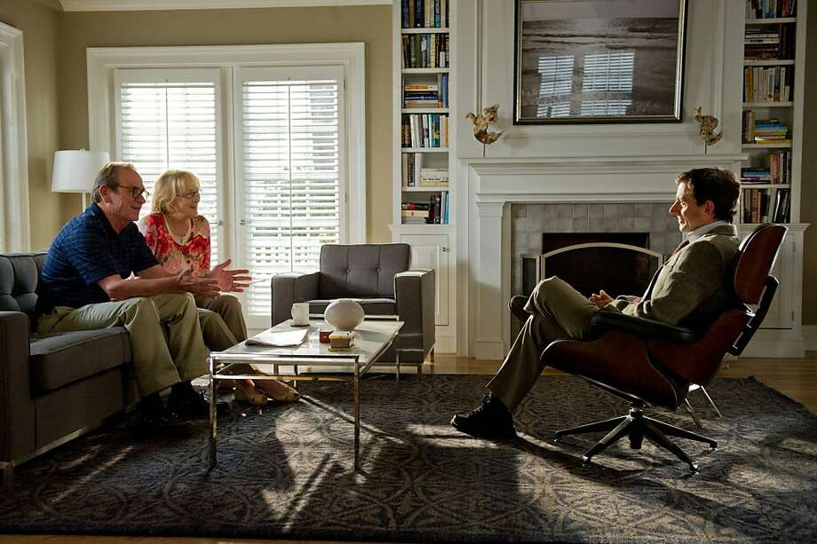 "Arnold (Tommy Lee Jones) and Kay (Meryl Streep) in ""Hope Springs,"" which explores the couple's long-term relationship. Photo: Sony Pictures"