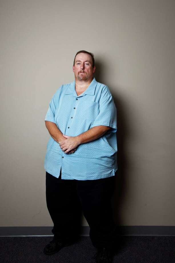 Ronald Kratz II was fired from his job because his employees said he was morbidly obese with a weight of 600 pounds. The EEOC has sued BAE Systems on his behalf under the Americans with Disabilities Act.   Wednesday, Sept. 28, 2011, in Houston. ( Michael Paulsen / Houston Chronicle ) Photo: Michael Paulsen / © 2011 Houston Chronicle