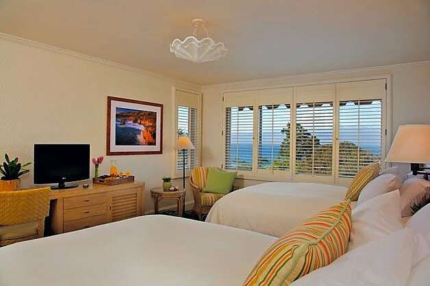 Another view of one of the hotel's updated rooms. Photo: La Playa Hotel