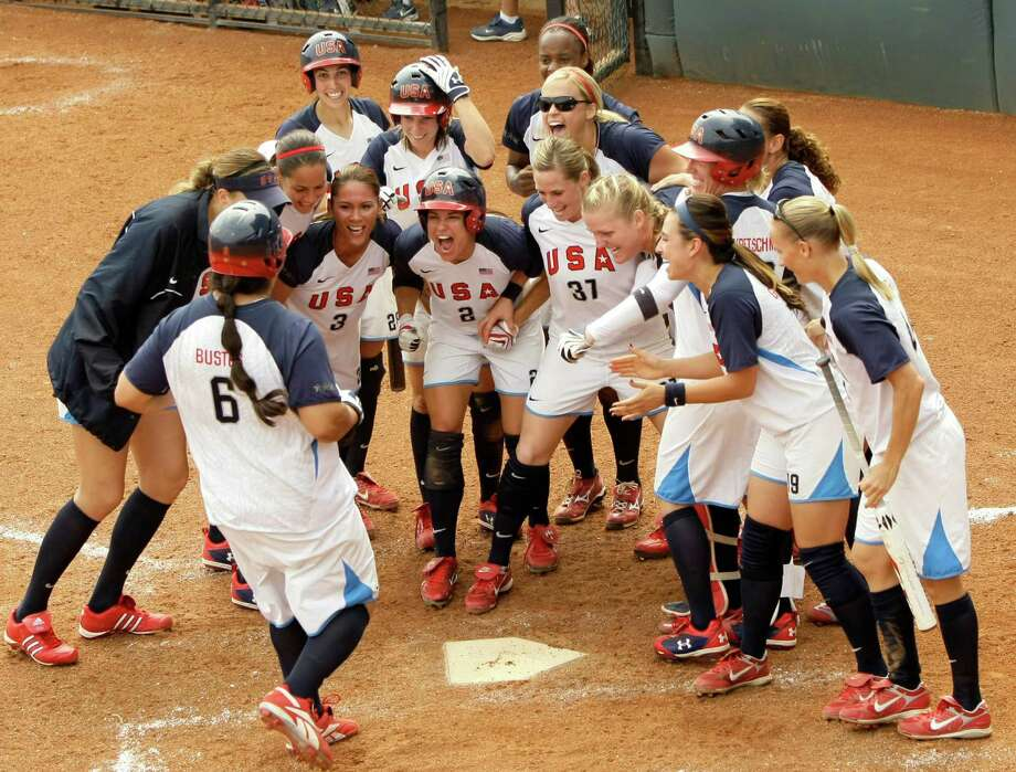 Softball at the Summer Olympics was on the Olympic program from 1996 to 2008. Softball was removed from the the Games  for 2012 and 2016. Efforts are underway to try to get softball in the 2020 Summer Olympics. Photo: Charlie Riedel, AP / AP