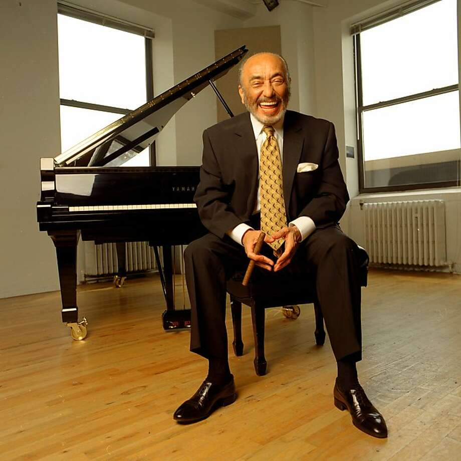 Eddie Palmieri, honored by the NEA, brings his Latin jazz chops to Monterey Jazz Festival on Friday and Yerba Buena on Sunday. Photo: Yamaha Piano