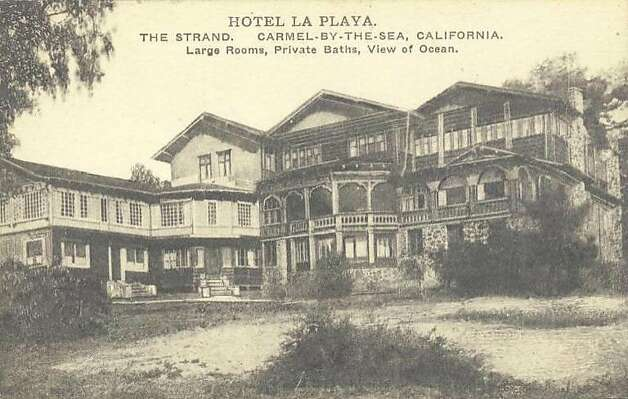 "The La Playa hotel as it looked in 1926. In 1916, Alice Signor turned the mansion into what local papers called a ""home hotel""   an upscale boarding house. Photo: La Playa Hotel"