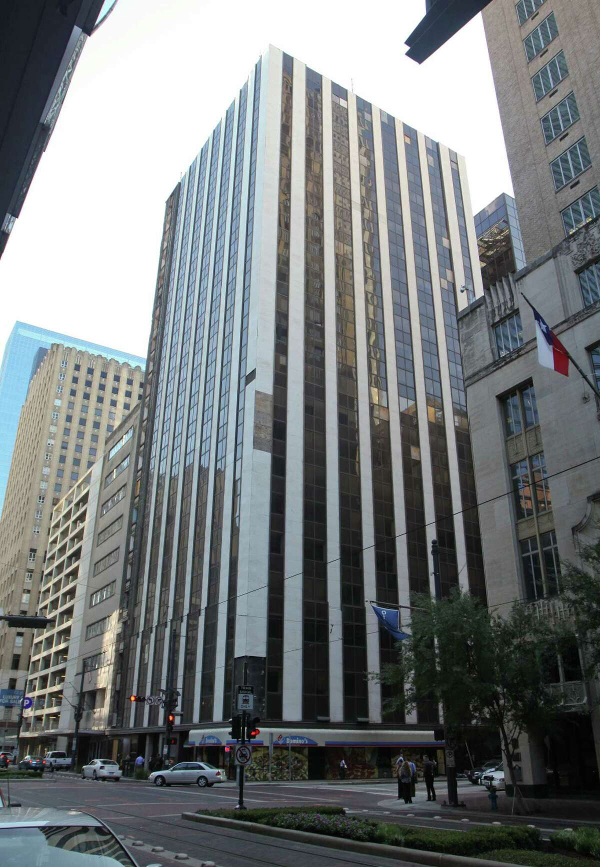 This building at 806 Main, which was built in 1910, was originally known as the Samuel F. Carter building. A developer wants to turn the 22-story tower into a JW Marriott hotel.