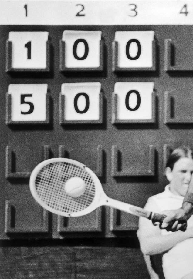 At the 1908 Summer Olympics, two rackets events were contested. Only British players entered the competitions. Photo: Associated Press