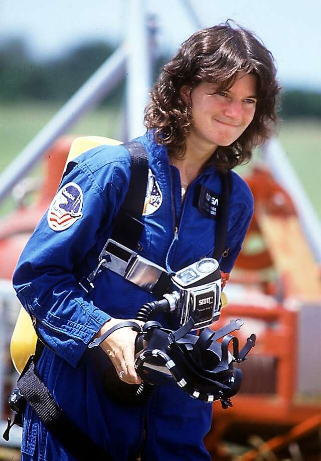 Former NASA astronaut Sally Ride died, Monday, July 23, 2012, after her battle with pancreatic cancer. She was 61. In this 1983 file photo, Ride participated in a fire training exercise before her first space shuttle launch. Photo: Red Huber, McClatchy-Tribune News Service