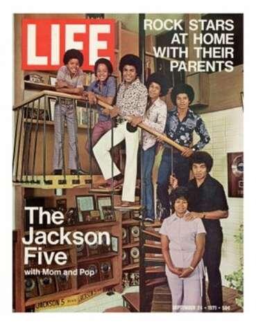 Jackson 5, 1971. (LIFE) / SF