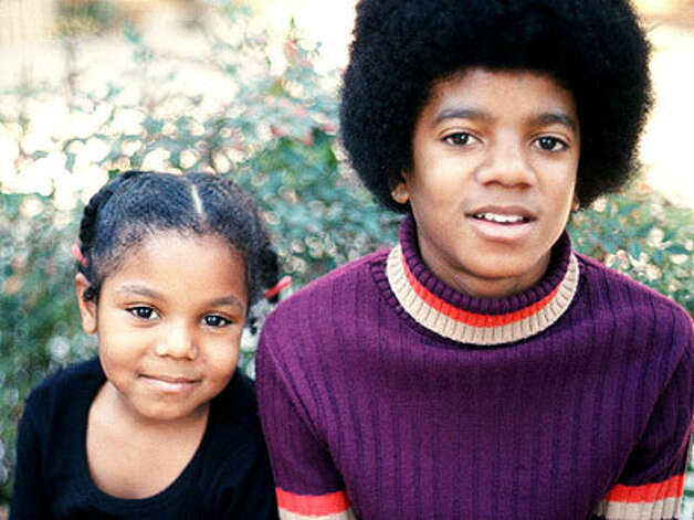 Janet and Michael Jackson, 1972. (Motown) / SF