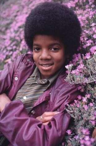 Michael Jackson, 1974. (Motown) / SF