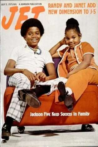 Randy and Janet Jackson, 1975. (Jet) / SF