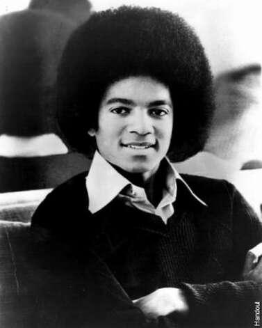 Michael Jackson, 1977. (Sony) / SF