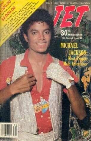 Michael Jackson, 1981. (Jet) / SF