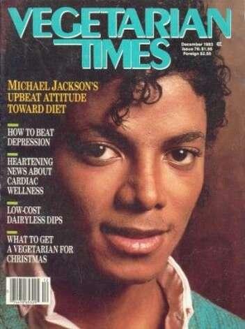 Michael Jackson, 1983. (Vegetarian Times) / SF