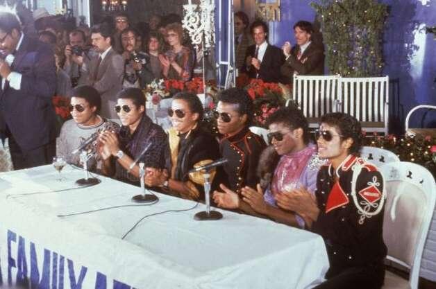 The Jacksons, 1984. (AP) / SF