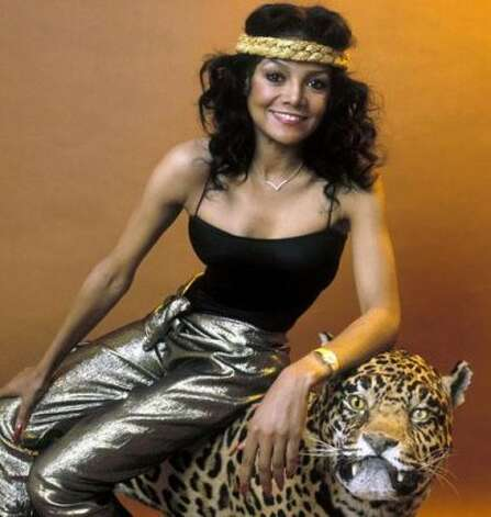 La Toya Jackson, 1985. (Sony) / SF