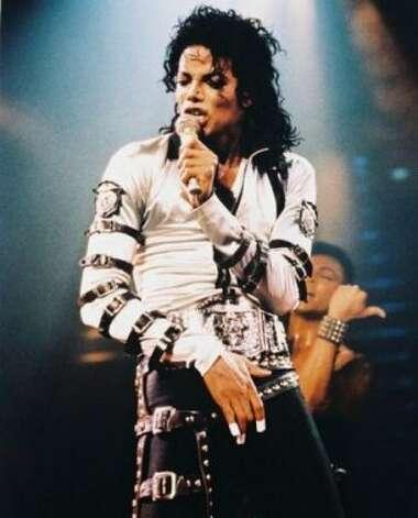 Michael Jackson, 1987. (Sony) / SF