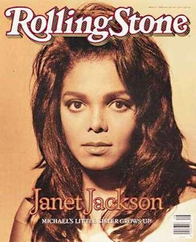 Janet Jackson, 1990. (Rolling Stone) / SF